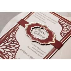 Wedding Davetiye 8392