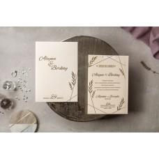 Wedding Davetiye 8401